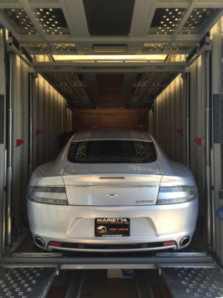 enclosed auto transport