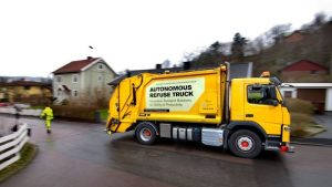 New Autonomous Garbage Trucks Coming To The Market…. Thanks Volvo!
