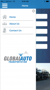 Global Auto Transportation App