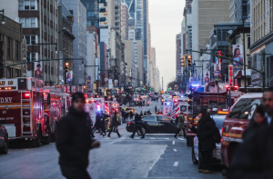 Bomb Explodes in New York: Port Authority Attack