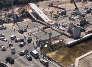 Pedestrian Bridge Collapses at Florida University: Several People Dead