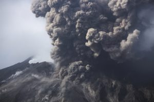 Hot Flow of Mud and Gas Swept Down from Fuego on Monday: New Eruption Occurred