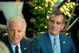Joe Biden Garners Garcetti's Endorsement