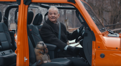 Bill Murray Sports Jeep in New Superbowl Ad