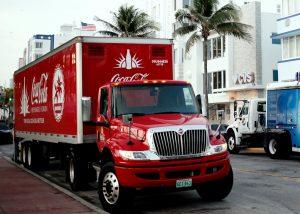 Coke Uncorked! Man Hit By Semi Truck During Strike