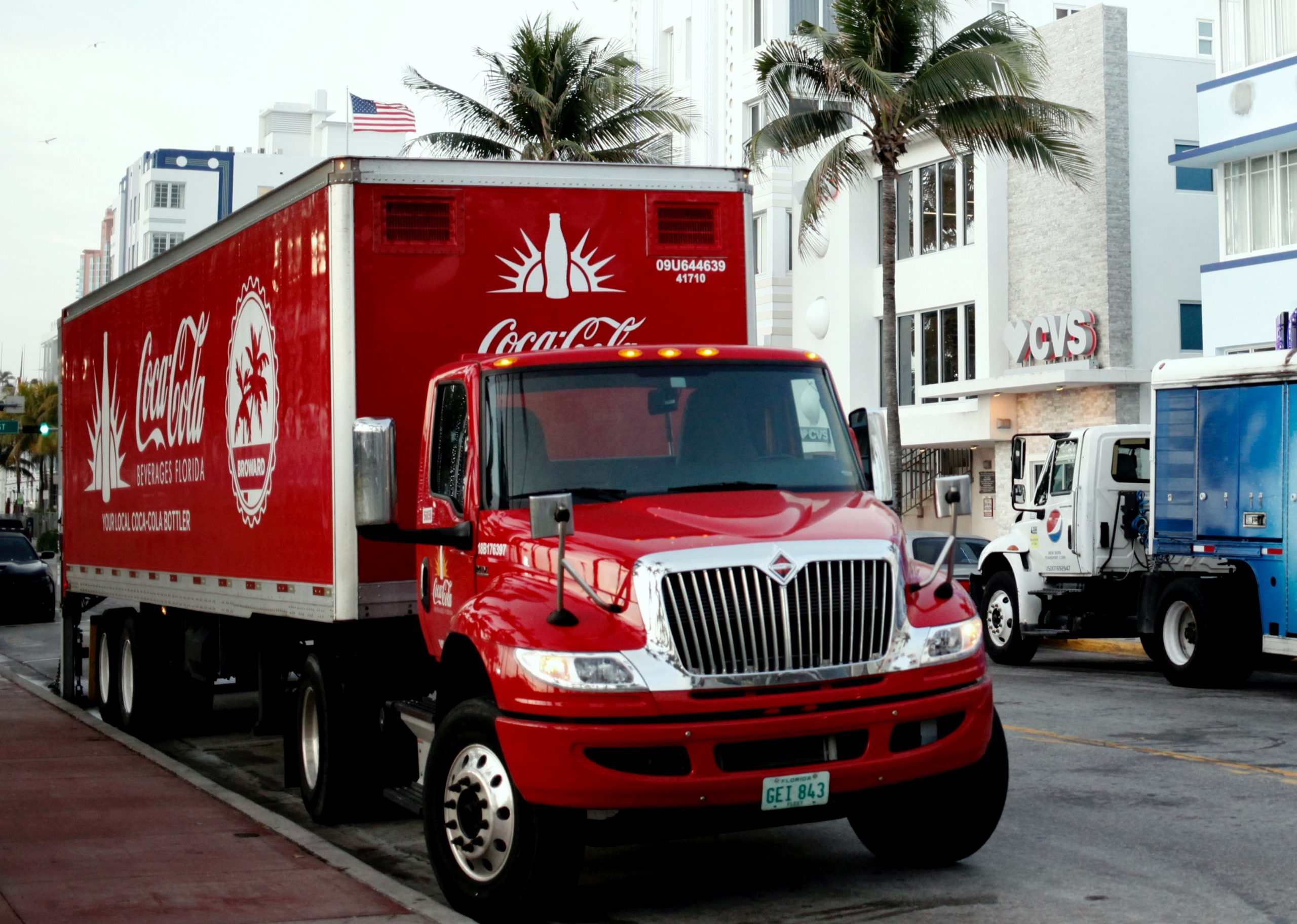 Coke Uncorked! Man Hit By Semi Truck During Strike